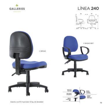sillas para alto trafico