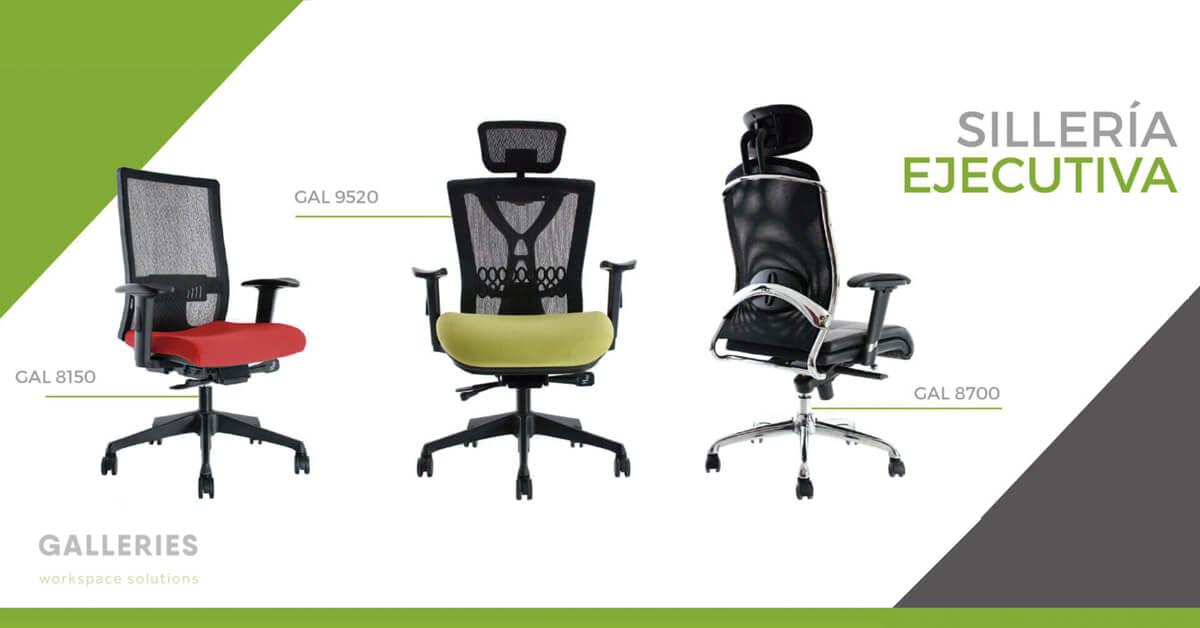 sillas ejecutivas para oficina