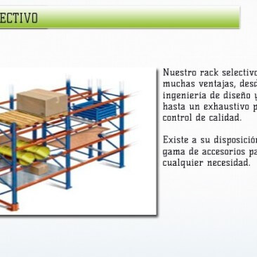 rack selectivo